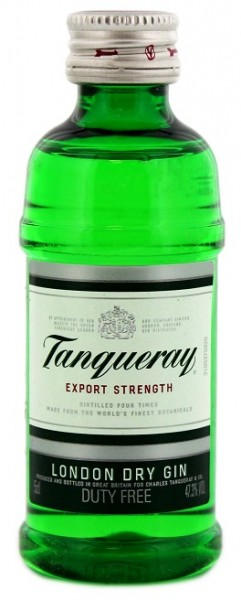 Tanqueray Export Strength Gin 0,05 Liter 47,3%