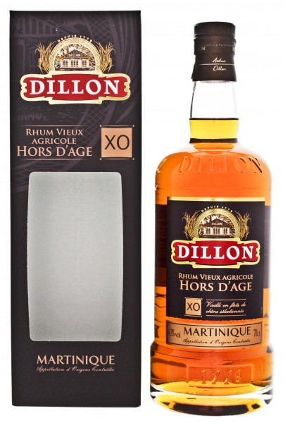 Dillon XO Hors d'Age Agricole Rum 0,7 Liter 43%