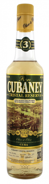 Cubaney 3YO Cristal Reserva 0,7 Liter