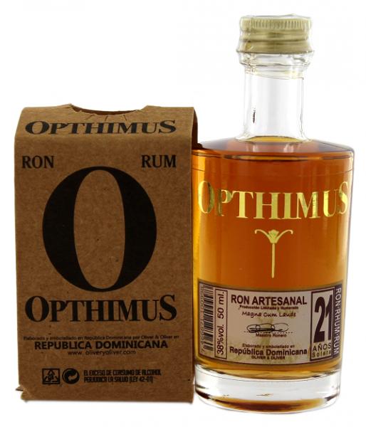 Opthimus 21YO Rum 0,05 Liter