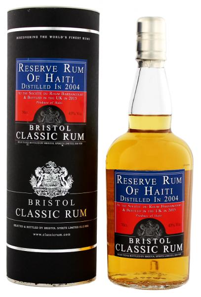 Bristol Reserve Rum of Haiti 2004 0,7 Liter 43%