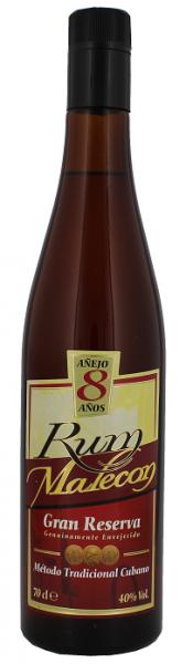 Malecon 8YO Gran Reserva Rum 0,7 Liter 40%