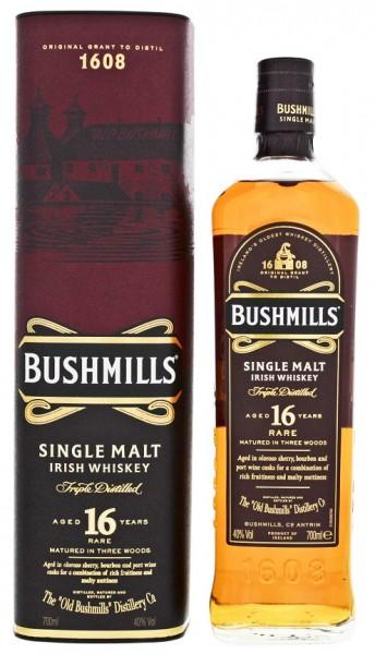 Bushmills 16YO Single Malt Whiskey 0,7 Liter 40%