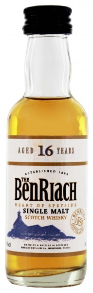 BenRiach 16YO Malt Whisky 0,05 Liter 43%