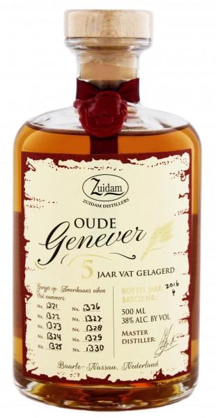 Zuidam Oude Genever 5YO 0,5 Liter 38%