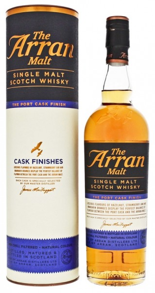 Arran Single Malt Scotch Port Cask Finish Whisky 0,7 Liter 50%