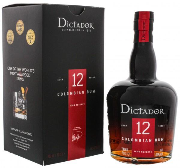 Dictador 12YO Ultra Premium Rum 0,7 Liter