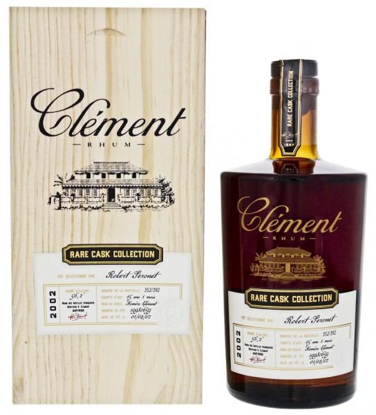 Clement Rhum Vieux Rare Cask 2002 Matured 15YO und 1 Monat 0,5 Liter 56,2%