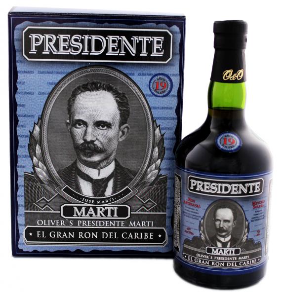 Presidente 19YO Rum 0,7 Liter
