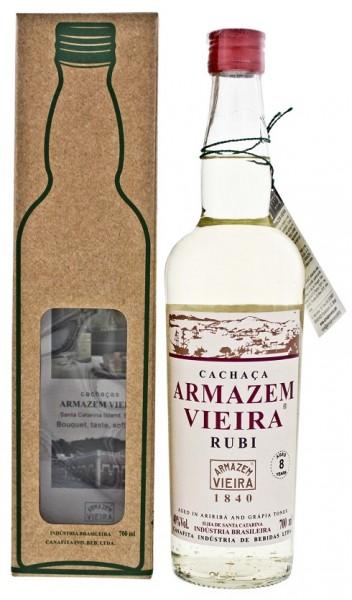 Armazem Vieira Rubi Cachaca 0,7 Liter 40%