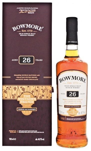 Bowmore 26YO The Vintner's Triology Single Malt Scotch Whisky 0,7 Liter 48,7%