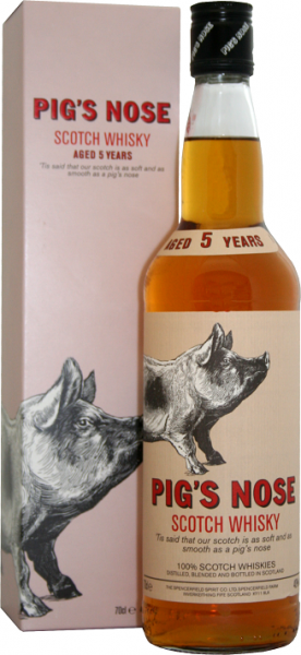 Pig´s Nose 5YO Scotch Whisky 0,7 Liter 40%