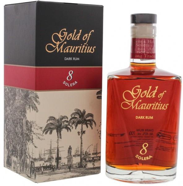 Gold of Mauritius Solera 8 Dark Rum 0,7 Liter 40%