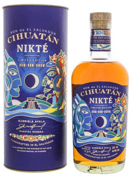 Ron de El Salvador Cihuatan Nikte Rum 0,7 Liter 47,5%