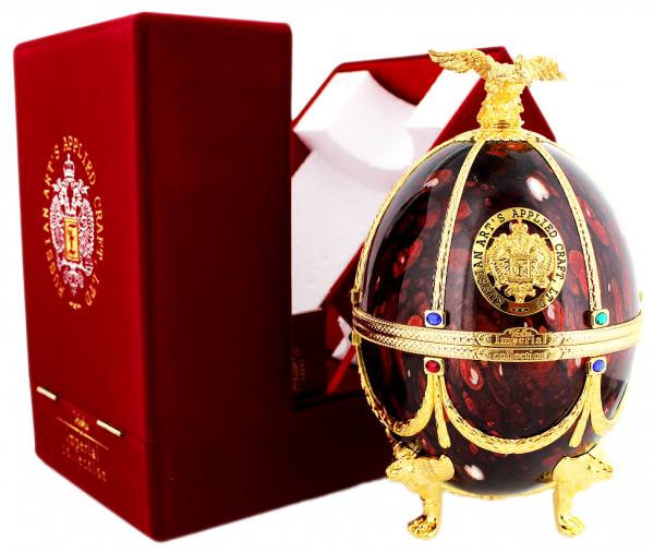 Imperial Collection Faberge Ei (Bordeaux Rot) 0,7 Liter 40%
