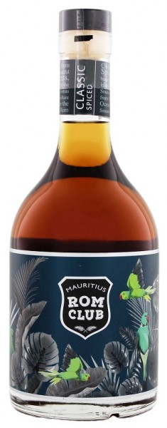 Mauritius Rom Club Classic Spiced 0,7 Liter 40%