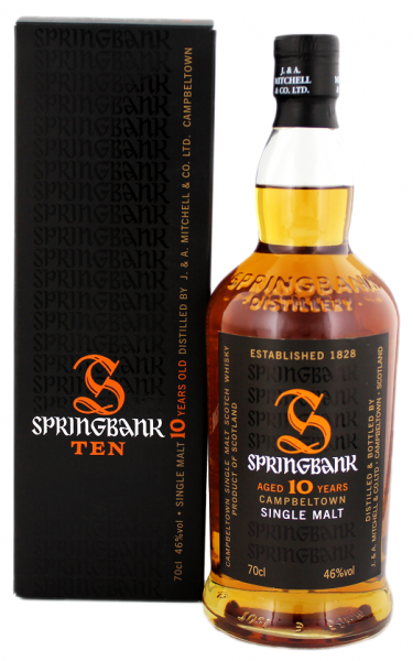 Springbank 10YO Single Malt 0,7 Liter 46%