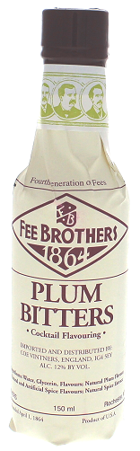 Fee Brothers Plum Bitters 0,150 Liter 12%