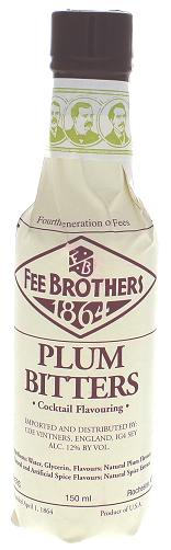 Fee Brothers Plum Bitters 0,150 Liter 12%