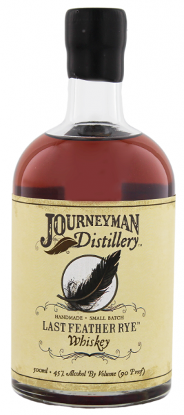 Journeyman Last Feather Rye Whiskey 0,5 Liter 45%