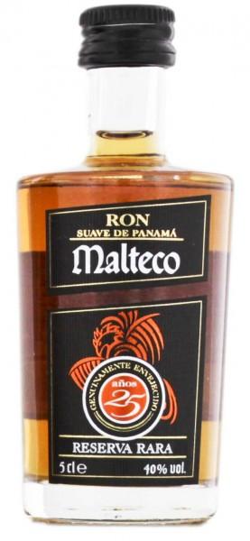 Malteco 25YO Rum 0,05 Liter 40%