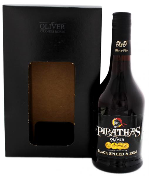 De Pirathas Black Spiced 0,7 Liter 35%