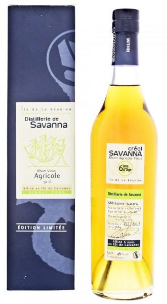 Savanna Créol 6YO Vieux Agricole Rhum 0,5 Liter 46%