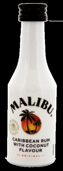 Malibu Coconut Rum Miniatur 0,05 Liter 21%