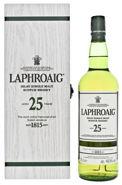 Laphroaig 25YO Cask Strength Malt Scotch Whisky 0,7 Liter 48,9%