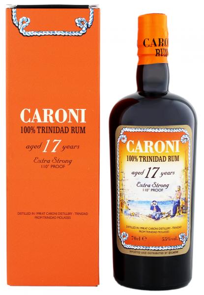 Caroni 17YO Trinidad Rum 0,7 Liter 55%