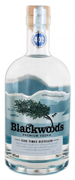 Blackwood's Vodka 1,0L