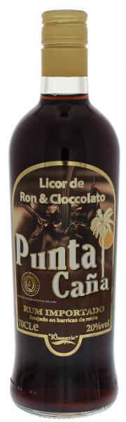 Punta Cana Licor de Ron y Cioccolato 0,7 Liter