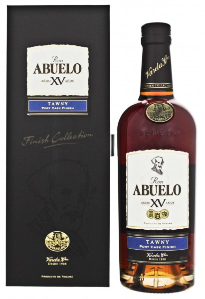 Abuelo 15YO Tawny Port Cask Finish Rum 0,7 L