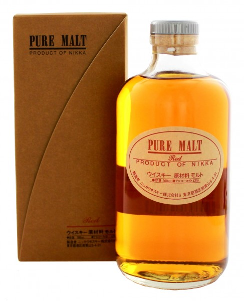 Nikka Pure Malt Red 0,5L