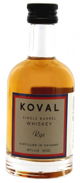 Koval Rye Whiskey Single Barrel 0,05 Liter