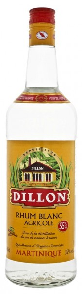 Dillon Blanc Agricole Rhum 0,7 Liter 55%
