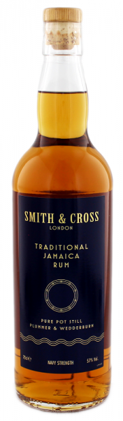 Smith & Cross Traditional Navy Strength Rum 0,7 Liter 57%