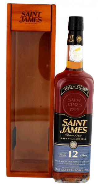 Saint James Vieux 12YO Agricole Rhum 0,7 Liter 43%