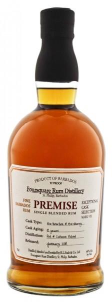 Foursquare Premise 10YO Rum 0,7 Liter 46%
