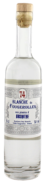 Absinthe Blanche de Fougerolles 0,2 Liter 74%
