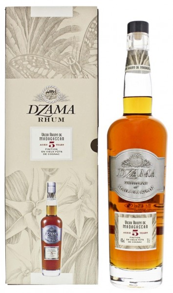 Dzama Vieux 5YO Rhum Cognac Finish 0,7 Liter 40%