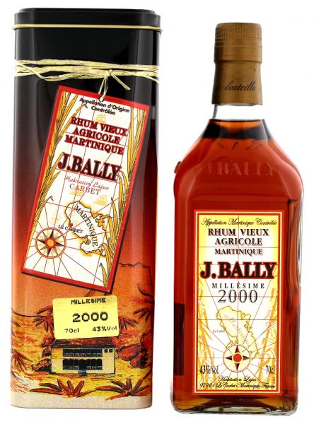 J. Bally Vieux 2000 Agricole Rhum 0,7 Liter 43%