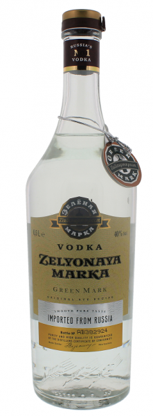 Green Mark Vodka Rye 0,5 Liter 40%