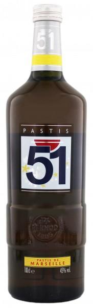 Pastis 51 1 Liter 45%