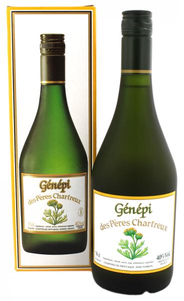 Chartreuse Génépi des Peres Chartreux 0,7 Liter 40%