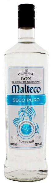 Malteco Seco Puro Rum 1 Liter 37,5%