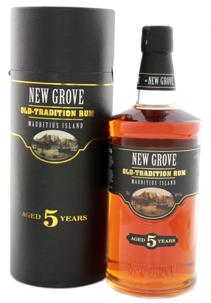 New Grove 5YO Old Tradition Rum 0,7 Liter 40%