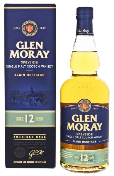 Glen Moray 12YO Single Malt Whisky 0,7 Liter 40%