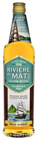 Riviere du Mat Traditional Dore Rhum 0,7 Liter 40%