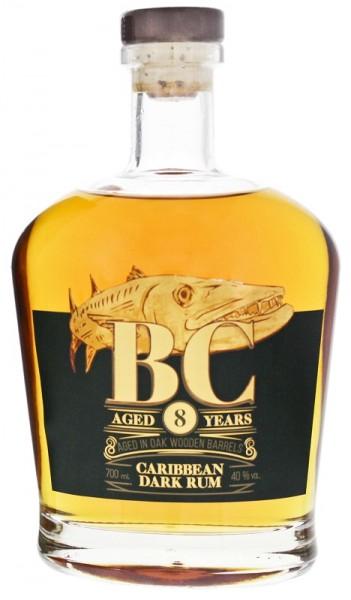 BC 8YO Dark Rum 0,7 Liter 40%